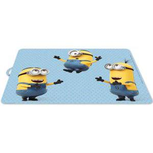 Set de table Minions - Plastique - 29 x 34 cm - Multicolore