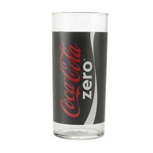 Lot de 3 verres Coca Cola - 27 cl - Noir, Blanc, Rouge