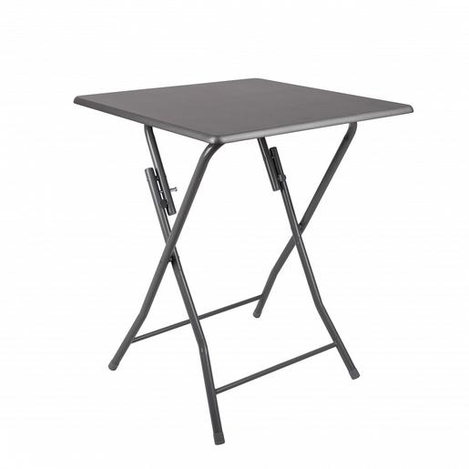 Table Pliante 60 X 60 X H 75 Cm Grise Meubles Pour La Cuisine La Foir Fouille