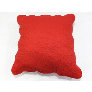 Taie boutis microfibre - 65 x 65 cm - Rouge