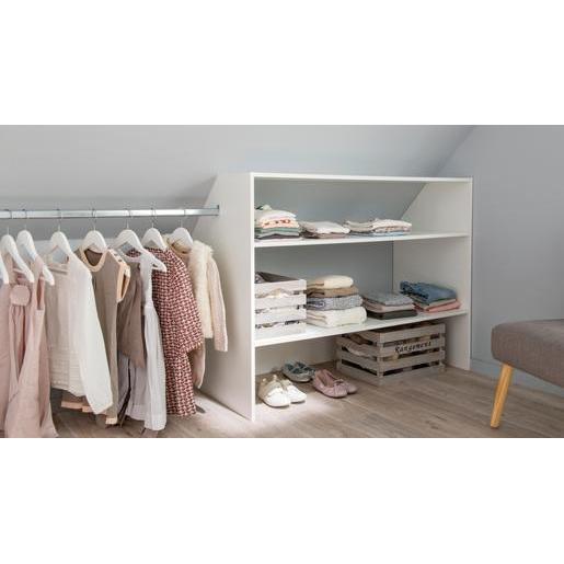 Kit Dressing Blanc - Meubles De Chambre | La Foir'Fouille