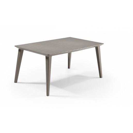 Table Lima - 157 x 98 x H 74 cm - Marron - Salon de jardin ...