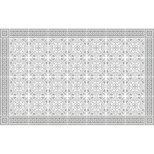 Tapis vinyle - 50 x 80 cm - Beige - Tapis déco | La Foir\'Fouille