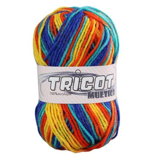 Pelote - 100% acrylique - 50 g - Multicolore