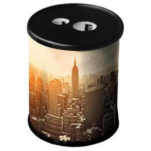 Taille crayon New York City - Acier - Ø 4 x H 6 cm - Multicolore
