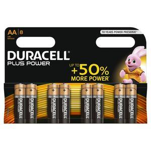 Piles Duracell Plus Power AA