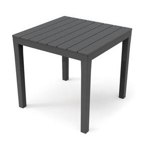 Table carrée Woody - 80 x 80 x H 72 cm