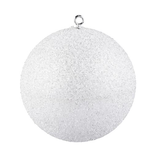 Boule Blanc   Boules de Noël | La Foir'Fouille
