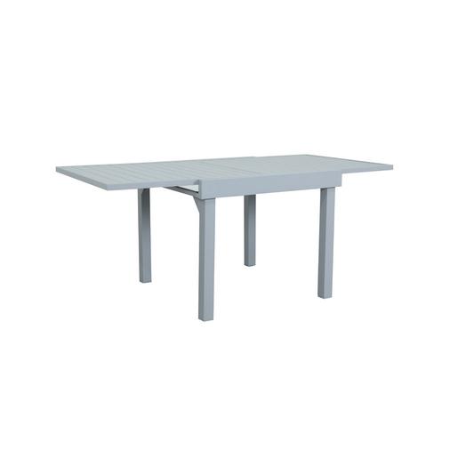 Table Goa extensible - 90/180 x H 74 cm - Gris, beige - MOOREA ...