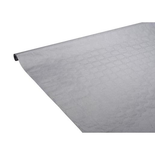 Nappe - ouate - 1,18 m x 6 m - Gris