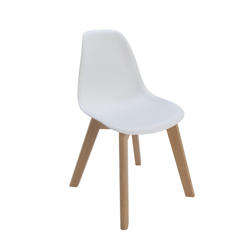 Chaise Vicky enfant - Blanc