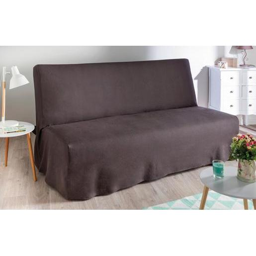 housse gris - housse de canapé et de fauteuil | la foir'fouille