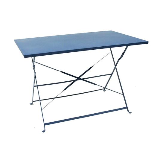 Table Diana 110 X 70 Cm Bleu Mobilier De Jardin La Foir Fouille