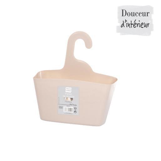 Panier de douche - Plastique - Marron - Accessoires salle de bain ...