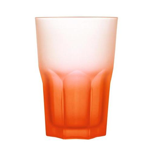 Gobelet techno - Verre - 40 cl - Orange
