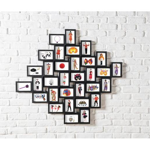 Berühmt Pêle-mêle 32 vues - Noir - Pêle-mêle et mémo | La Foir'Fouille ZX11
