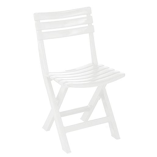 Chaise Pliante Polypropylene Blanc Mobilier De Jardin La Foir Fouille