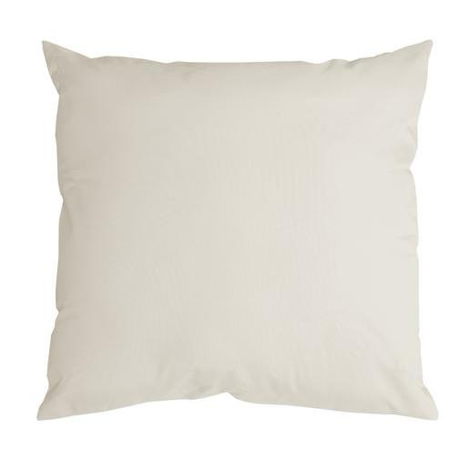 Coussin Nelson - 100 % Polyester - 60 x 60 cm - Écru
