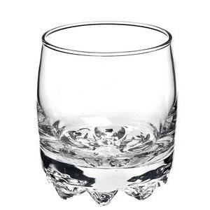 Lot de 3 verres en verre - 19,5 cl -Blanc transparent