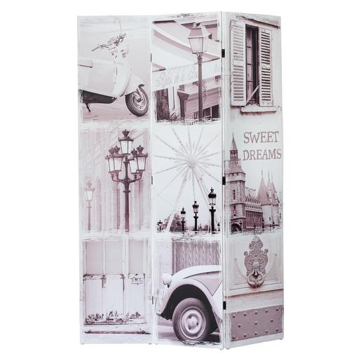 Paravent Sapin Polyester Multicolore Meubles De Rangement Pour La Salle A Manger La Foir Fouille