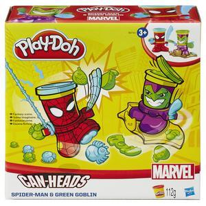 Kit de pâte à modeler Play-Doh Marvel Can-Heads
