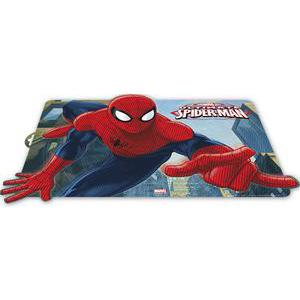 Set de table 3D Spiderman - Polypropylène - Multicolore