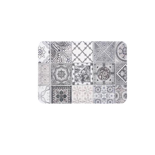 Tapis Imprime Carreaux De Ciment 65 X 45 Cm Tapis Deco La