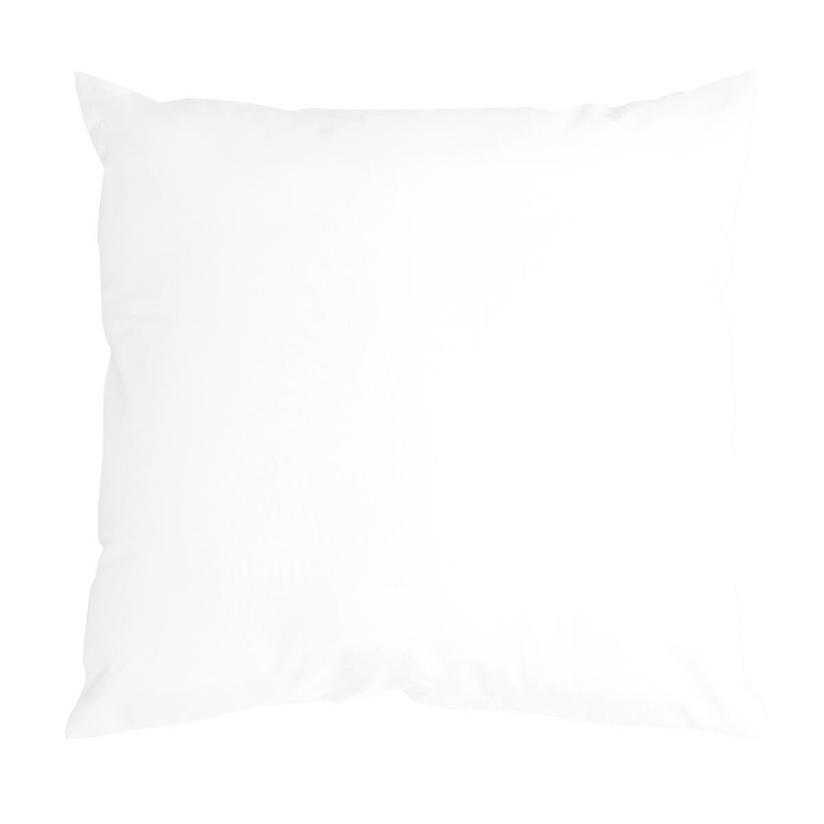Coussin Nelson - 100 % Polyester - 40 x 40 cm - Blanc