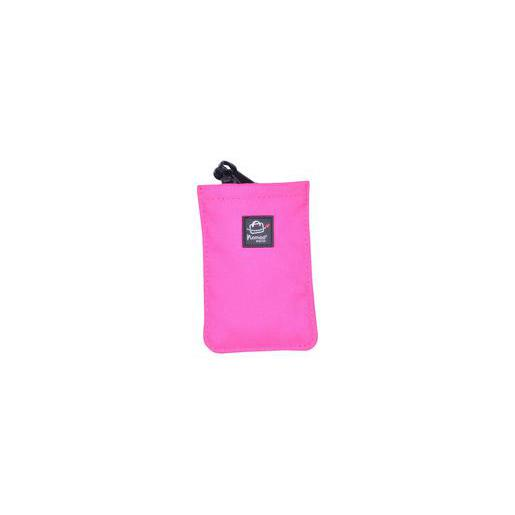 Etui iPhone ph plastique - 7,5 x 12 cm -Noir, Rose