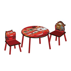TABLE RONDE+2 CHAISES CARS