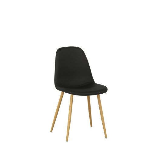 Chaise Noir Meubles De Salon La Foir Fouille