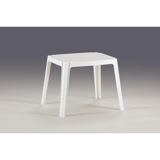 Table de jardin d\'appoint - Polypropylène - Blanc - Mobilier ...