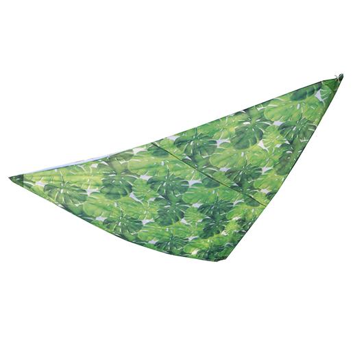 Voile Ombrage Triangle Imprime Moorea Parasols Pieds De Parasols Et Voiles D Ombrage La Foir Fouille