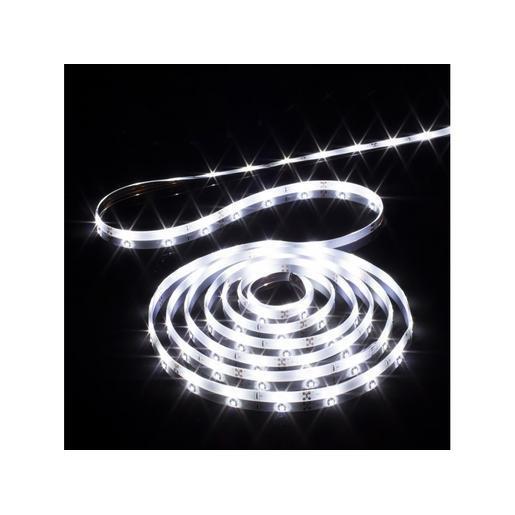Ruban Led - 5 M - Blanc - Décoration De Fête | La Foir'Fouille