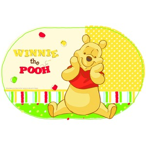 Set de table Winnie The Pooh en plastique - 29 x 44 cm - Multicolore