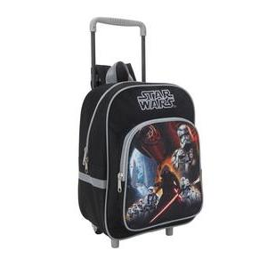 Cartable à roulettes Star Wars - Polyester - 30,5 x 12 x H 41 cm - Multicolore