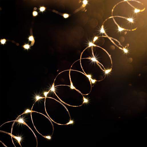 Guirlande électrique Blanc Guirlandes Lumineuses Intérieures De