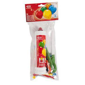 Lot de 10 ballons + pompe - Latex et plastique - 25 cm - Multicolore