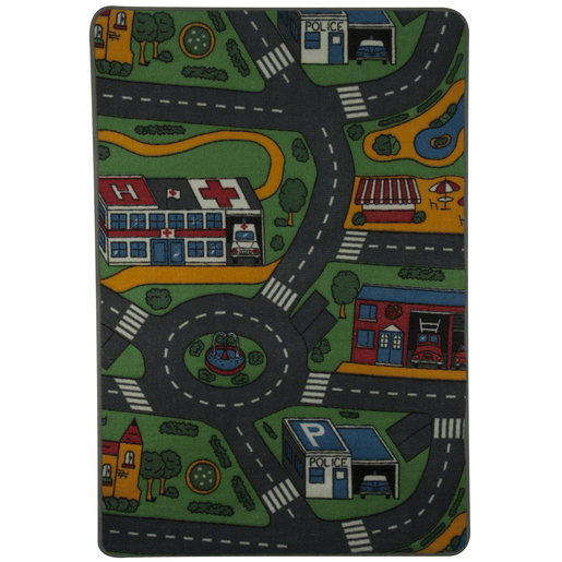 Tapis de circulation - Polypropylène - 80 x 120 cm -Multicolore