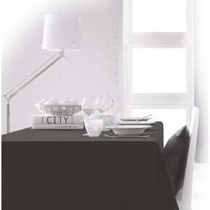 Nappe de table rectangulaire - 150 x 250 cm - Gris canon de fusil