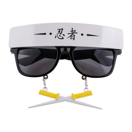 Lunettes de ninja Accessoires carnaval | La Foir'Fouille