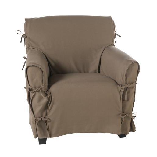 housse de canapé avec nouettes Housses de canapé et housses de fauteuil | La Foir'Fouille housse de canapé avec nouettes