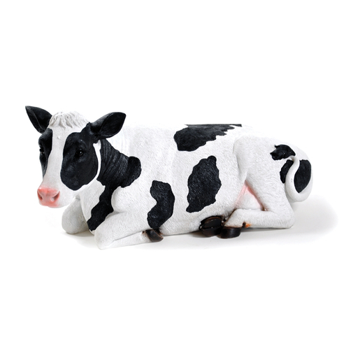 Vache Decorative Polyresine Noir Blanc Decoration De Jardin