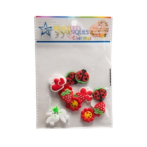 Sachet de 15 charms - Multicolore