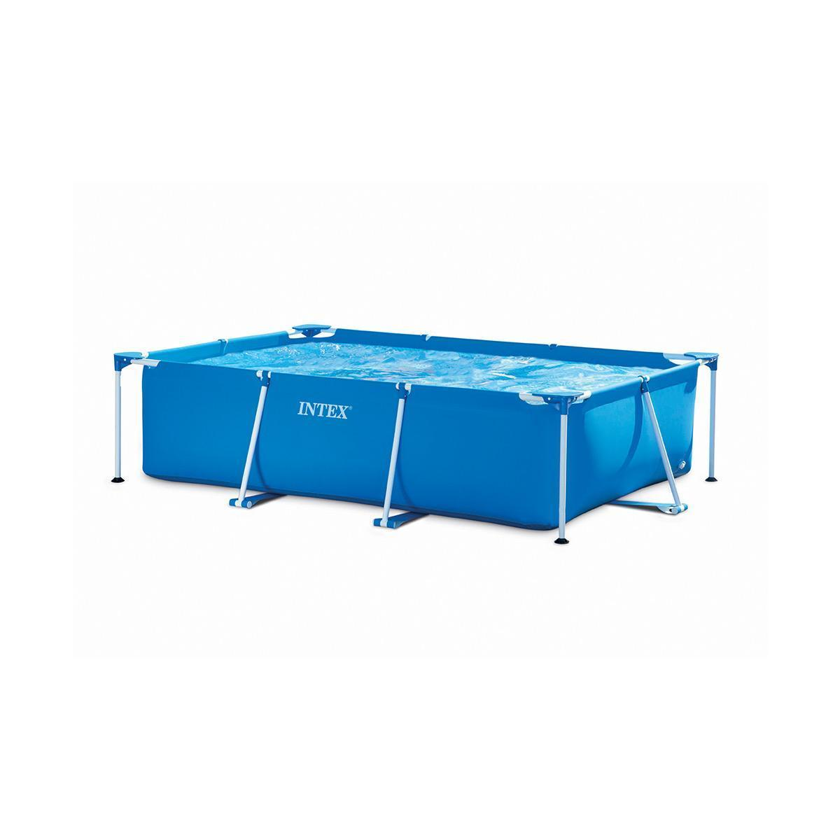 Piscine tubulaire rectangulaire Metal Frame Junior - 3 x 2 x H 0.75 m