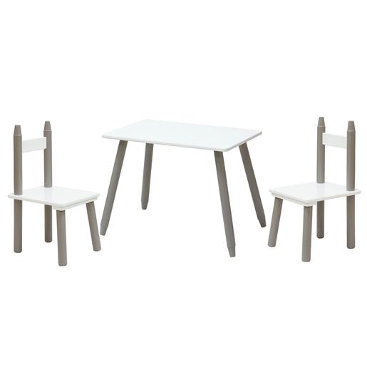 Table Blanc Marron Meubles De Chambre La Foir Fouille