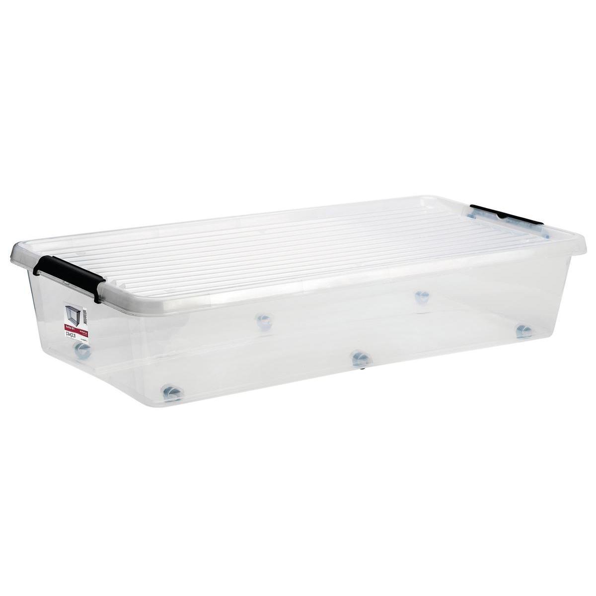 Box Dessous De Lit 35 L Rangement Plastique La Foir Fouille