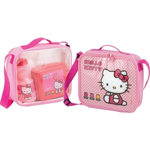 Lunch bag Hello Kitty Tulip en plastique - 13,5 x 13,5 x 5 cm -Multicolore