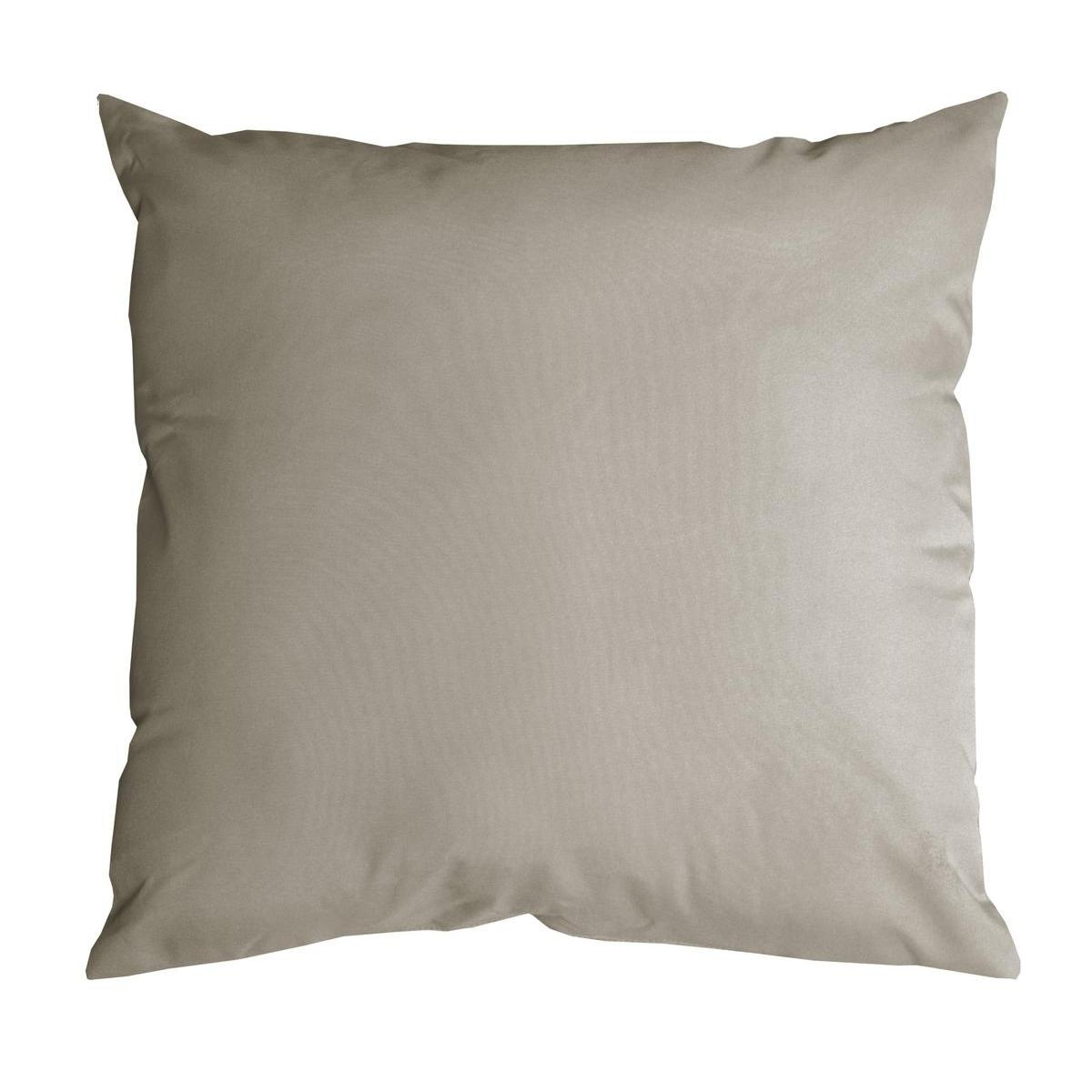 Coussin Nelson - 100 % Polyester - 60 x 60 cm - Beige