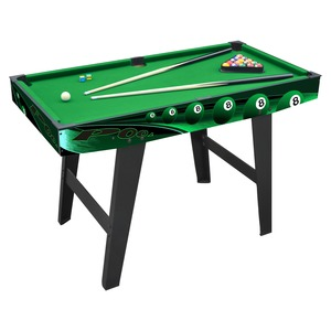 Table de billard - 121,6 x 61 x 78,8 cm - Noir et rouge